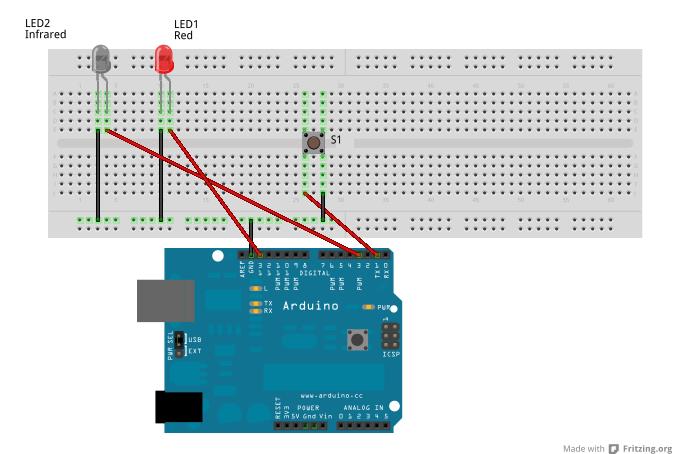 Tv-B-Gone made using Arduino   Tv B Gone Circuit Diagram      onioncoding.altervista.org